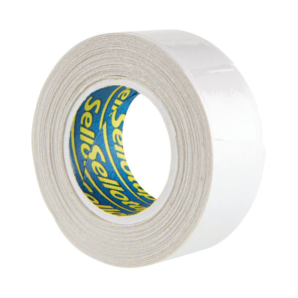 Sellotape 15mm x 5m Double Sided Tape, Pack of 12 - 484349