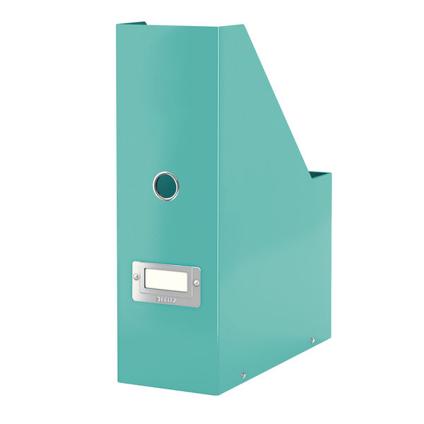 Leitz WOW Ice Blue Click and Store Magazine File - 60470051
