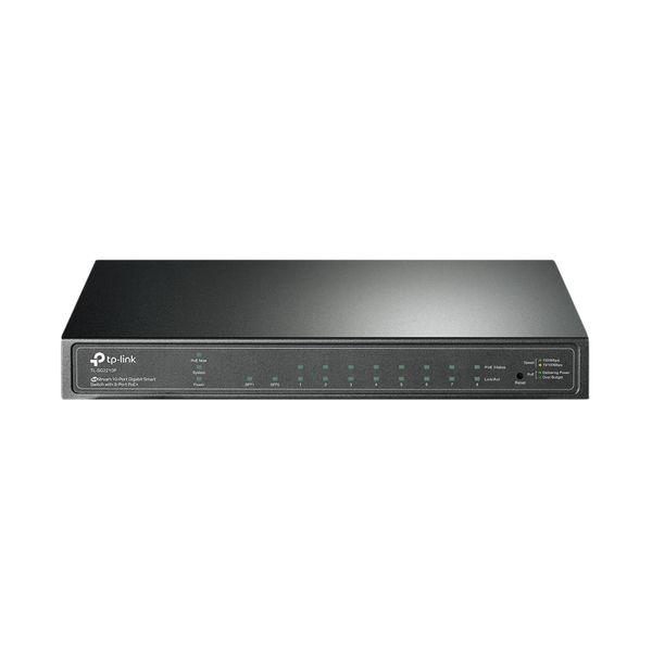 TP-Link JetStream 8-Port Gigabit Smart PoE+ Switch TL-SG2210P
