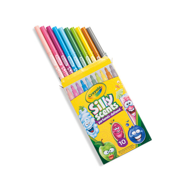 Crayola Assorted Fine Silly Scents Scented Markers (Pack of 60) - 58-5071-E-000