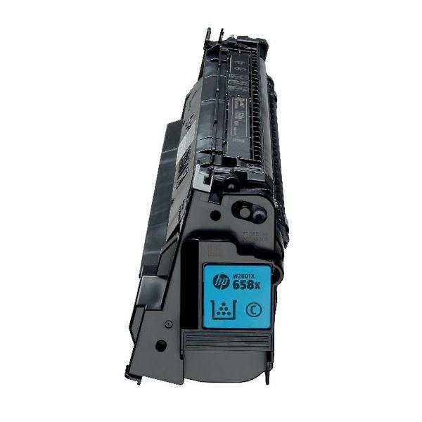 HP 658A LaserJet Toner Cartridge Cyan - W2001A