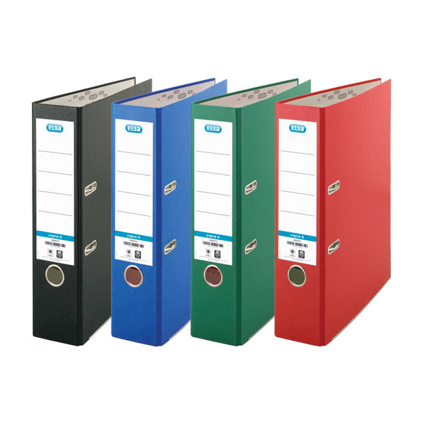 Elba Board Green A4 Lever Arch File 70mm - Pack of 10 - BX09616