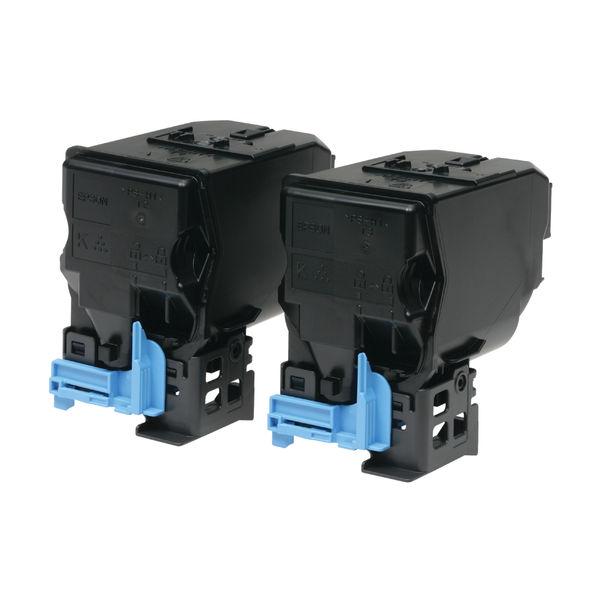 Epson S050751 Black Toner Cartridge Twin Pack (Pack of 2) C13S050751