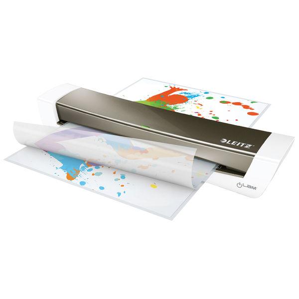 Leitz Dark Grey A3 iLAM Home Office Laminator - 74401089