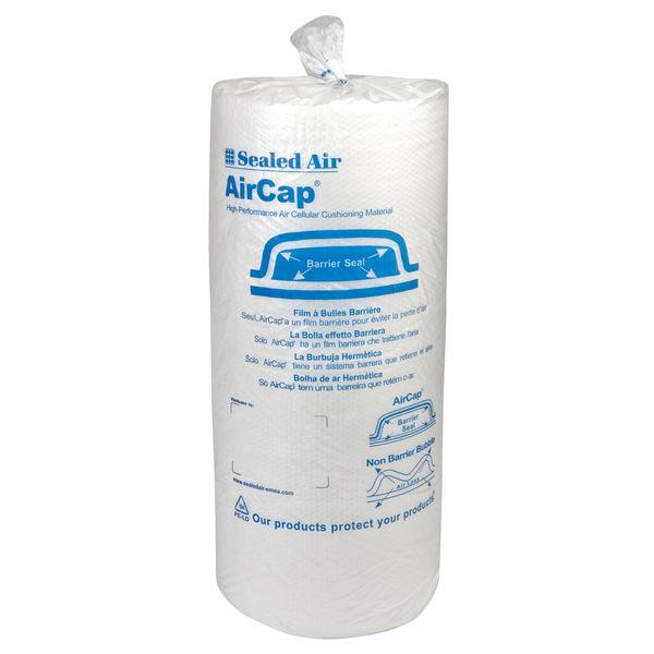 Sealed Air Aircap Clear Bubble Wrap Roll, 750mm x 60m - 103025314