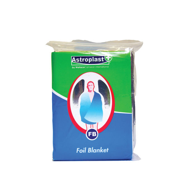 Wallace Cameron Emergency Foil Blanket, Pack of 6 - 4803008