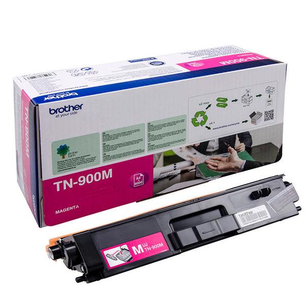 Brother TN900M Extra High Capacity Magenta Toner Cartridge - TN900M