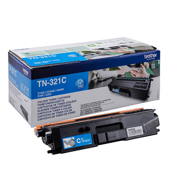 Brother TN-321C Cyan Toner Cartridge - TN321C