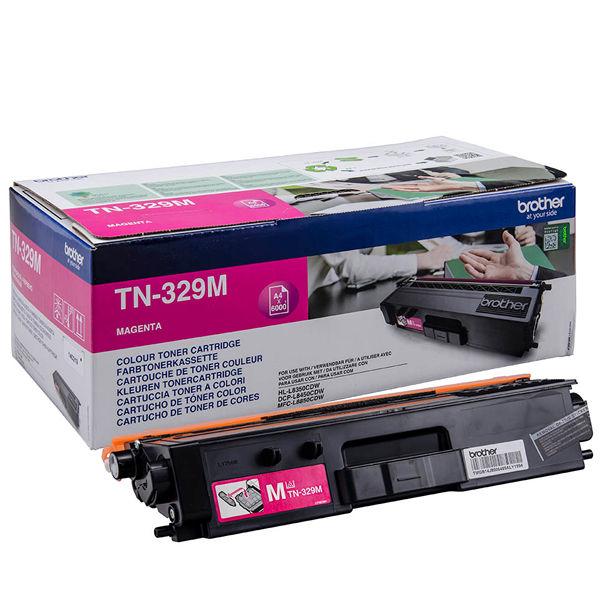 Brother Magenta Super Toner Cartridge High Capacity TN-329M