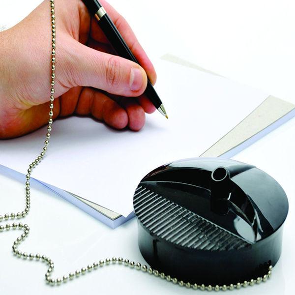 Fellowes Black Desk Pen and Chain - 98215-99