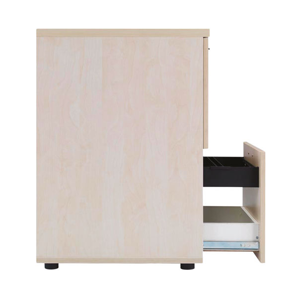 Jemini Maple 2 Drawer Filing Cabinet