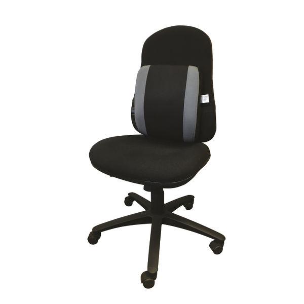 Contour Ergonomics Black/Grey Adjustable Lumbar Support - CE77701