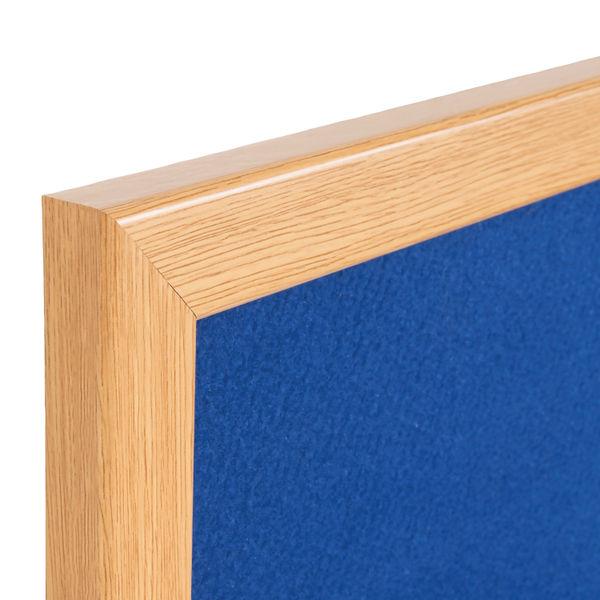 Bi-Office Earth Blue 900 x 600mm Felt Notice Board - RFB0743233
