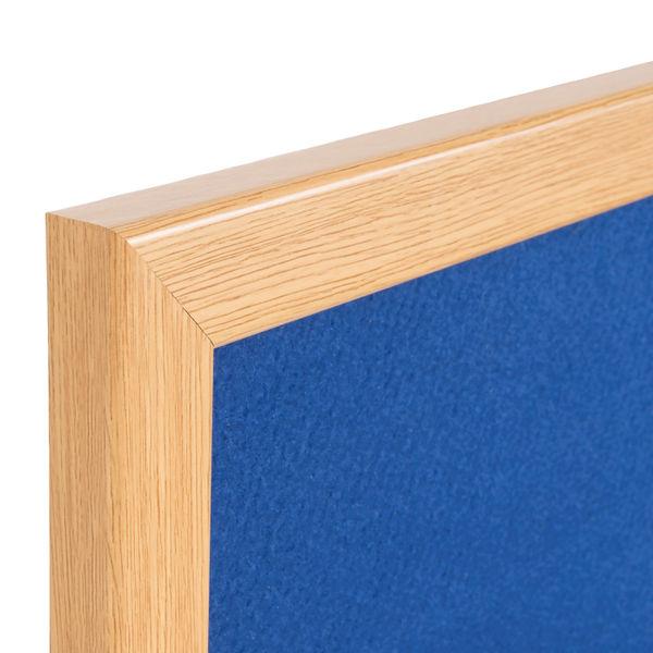 Bi-Office Earth Blue 1200 x 900mm Felt Notice Board - RFB1443233