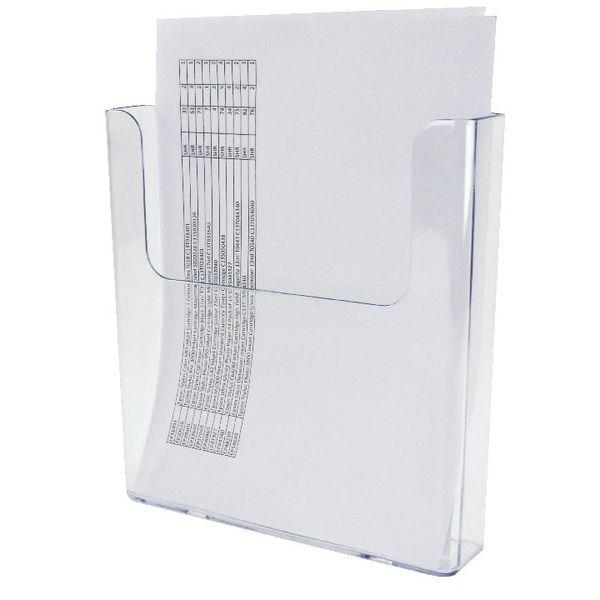 Deflecto A4 Flat Back Literature Holder DE76401