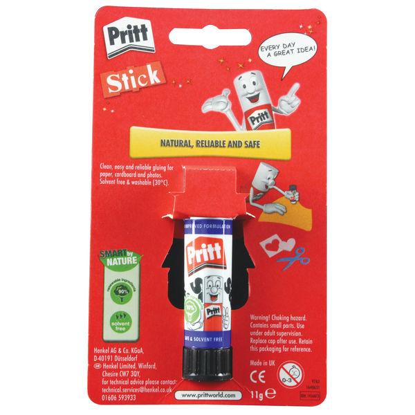 Pritt Stick 11g Blister Cards, Pack of 12 - 1456073