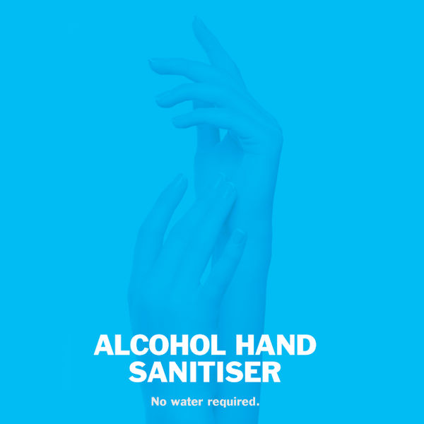 2Work Alcohol Hand Sanitiser Pump 300ml, Pack of 6 - AHS 222