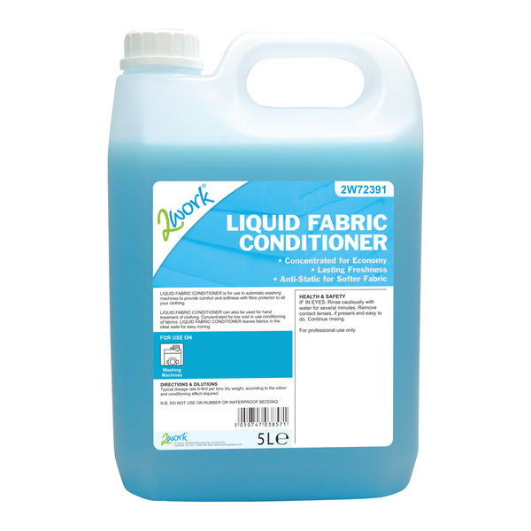 2Work Fabric Conditioner 5 Litre - 421