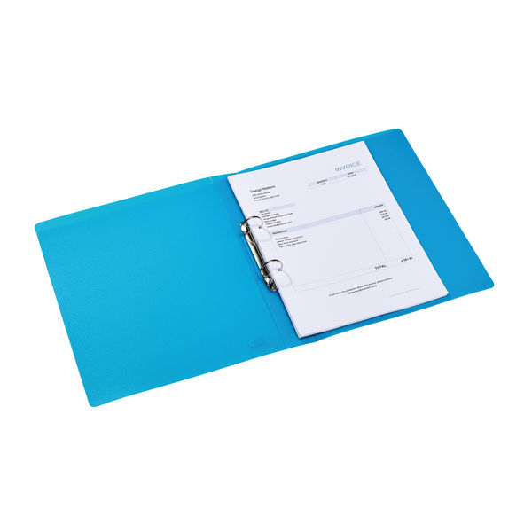Elba Blue A4 25mm Ring Binders – 44122003