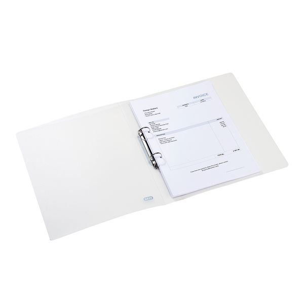 Elba Clear A4 25mm Ring Binders – 44122003