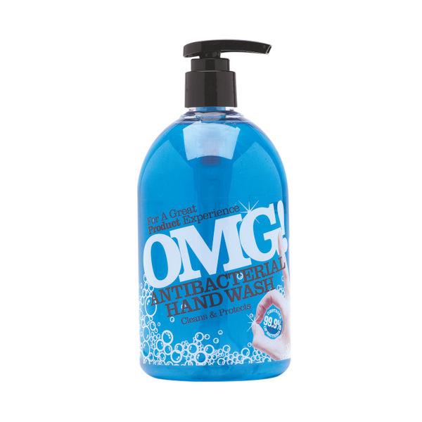 OMG! 500ml Antibacterial Hand Soaps, Pack of 6 - 0604398
