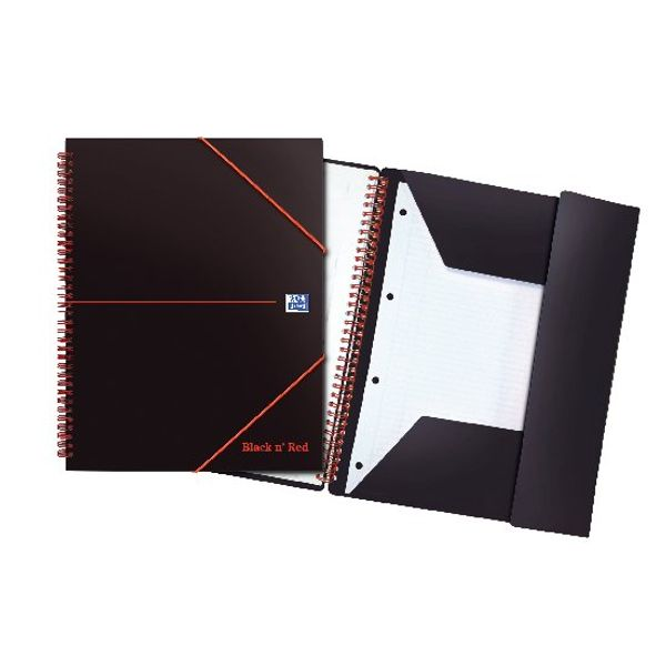 Black n' Red A4+ Wirebound Meeting Books, Pack of 5 - 100104323
