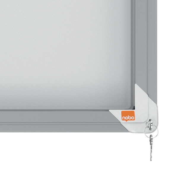 Nobo 12 x A4 Internal Glazed Magnetic Display Case - 1902570