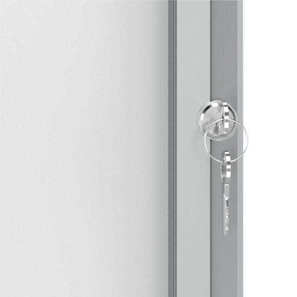 Nobo Premium Plus Outdoor Magnetic Lockable Notice Board 4xA4 1902577