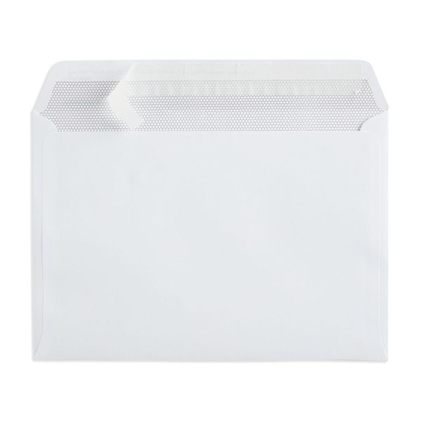 2nd Class White C5 Plain Prepaid Envelopes, Pack of 100 - V8