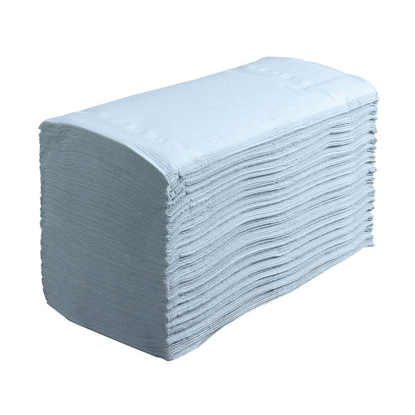 Scott Control Interfold V Fold Paper Hand Towels Blue (Pack of 3600) 6682