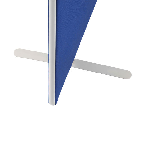 Jemini W1600 x H1200mm Blue Floor Standing Screen