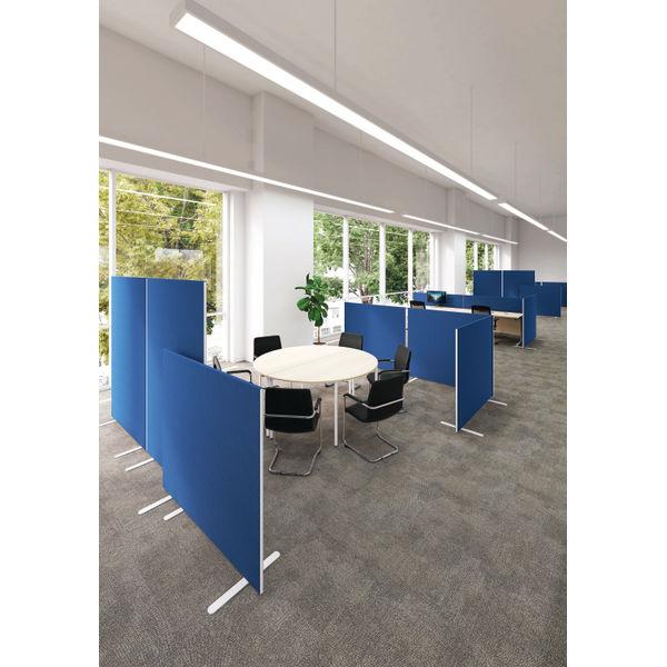 Jemini W1600 x H1800mm Blue Floor Standing Screen