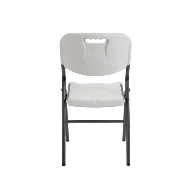Jemini White Lightweight Folding Chair - OF0410WH
