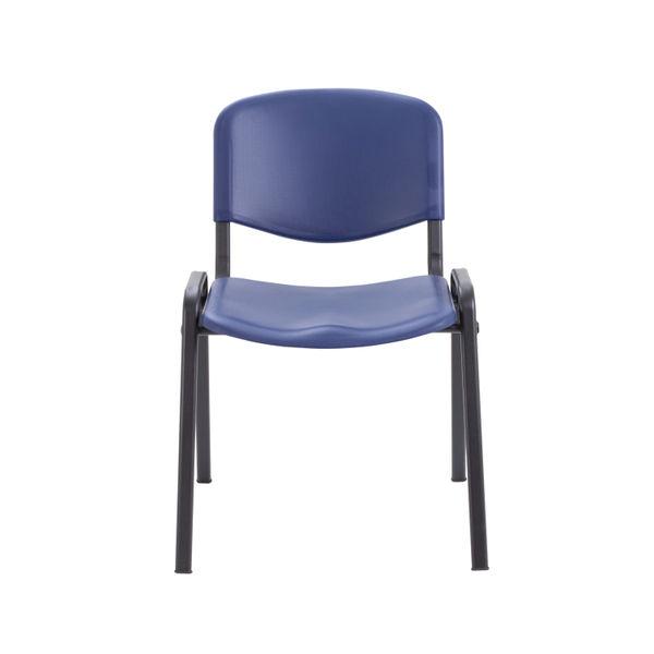 Jemini Blue Polypropylene Multipurpose Stacking Chair - CH0506