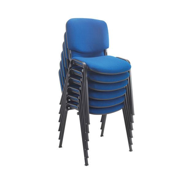 Jemini Ultra Blue Multipurpose Stacking Chair