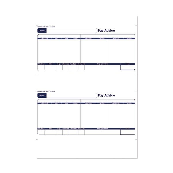 Sage Laser Forms Pay Advice (Pack of 500) 399477