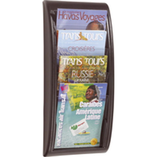Fast Paper Quick Fit System Wall Display 4 x A4 Black F406101