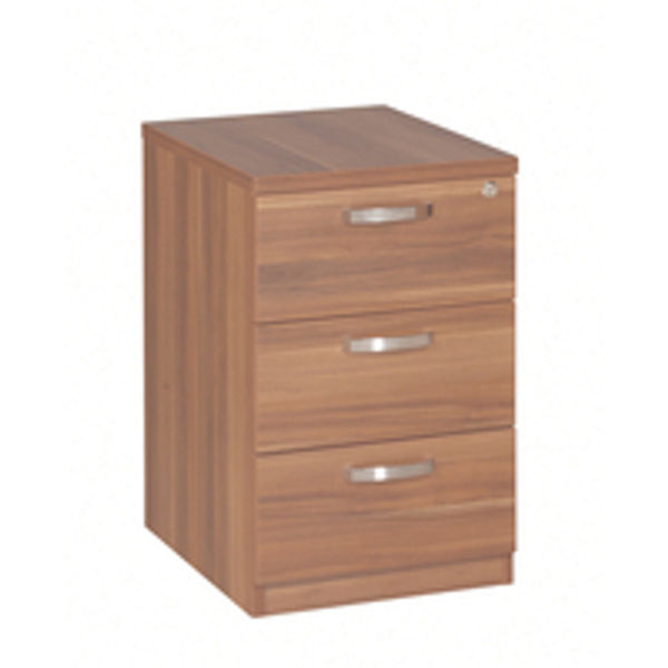 Avior Cherry 3 Drawer Mobile Pedestal KF72287