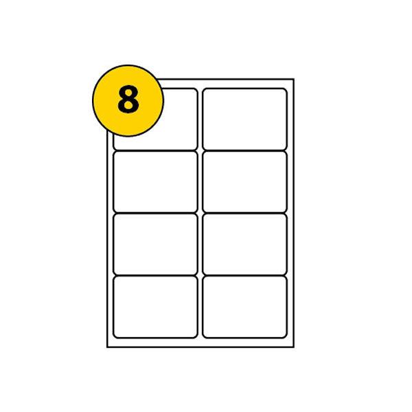 Avery QuickDry Inkjet Address Labels 99.1 x 67.7mm (Pack of 200) - J8165-25
