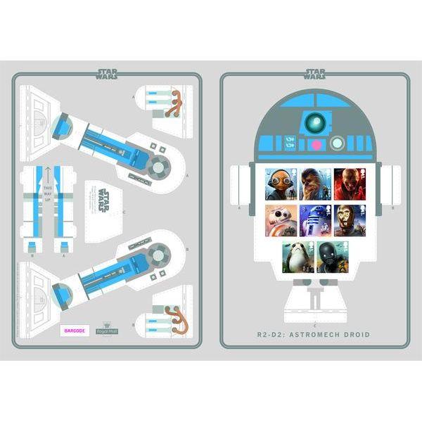 STAR WARS R2-D2 Display Set - NG006