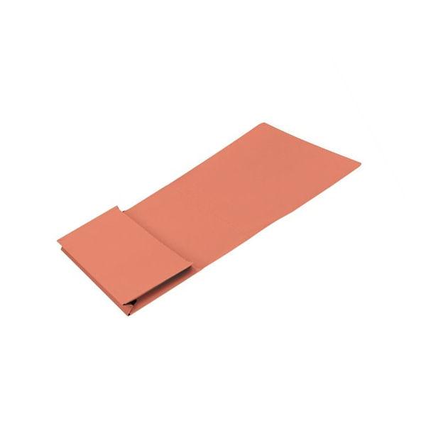 Guildhall Foolscap Full Flap Orange Pocket Wallet 315gsm - Pack of 50 - PW2-ORG