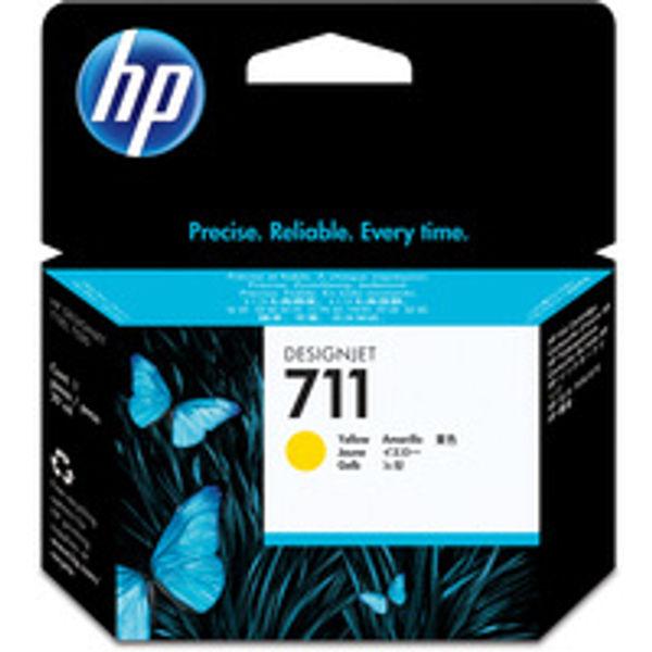 HP 711 Yellow Ink Cartridge - CZ132A