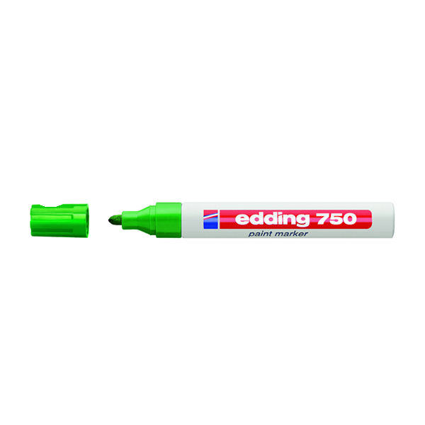 edding 750 Green Medium Paint Markers, Pack of 10 - 750-004