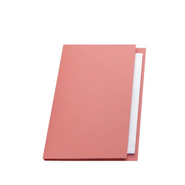 Guildhall Pink A4 Square Cut Folders 315gsm - Pack of 100 - FS315-PINK