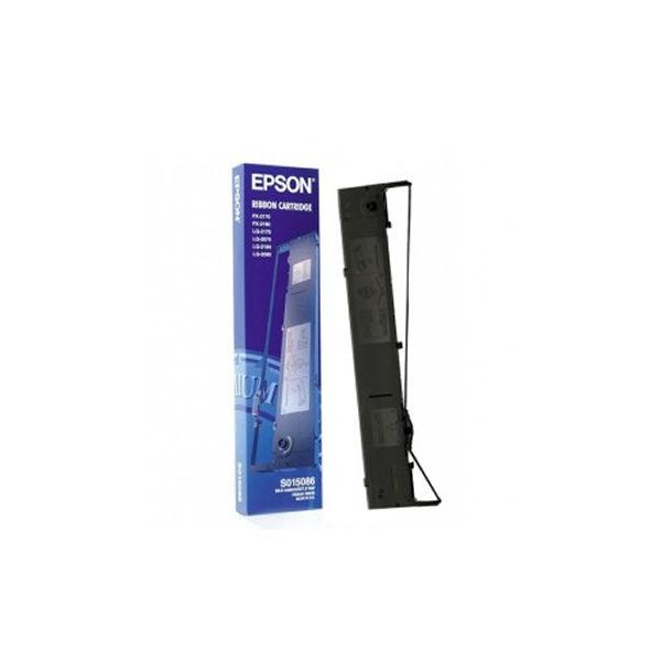 Epson S015086 Black Fabric Ribbon - C13S015086