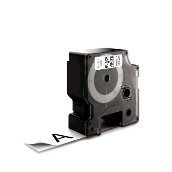 Dymo D1 Labelmaker Tape 24mm x 7m Black on White | S0720930