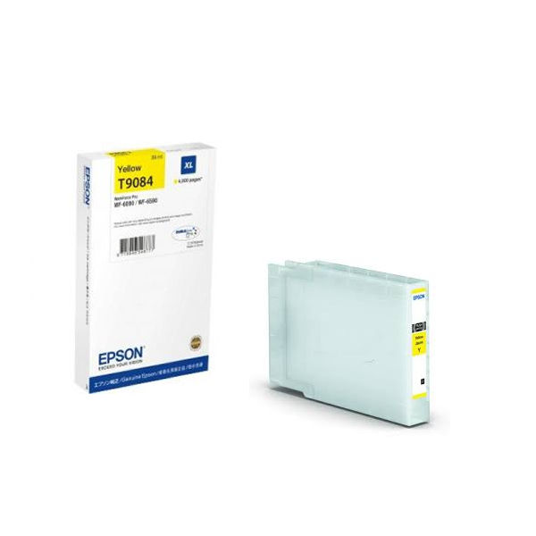 Epson T9084XL High Capacity Yellow Ink Cartridge - C13T908440