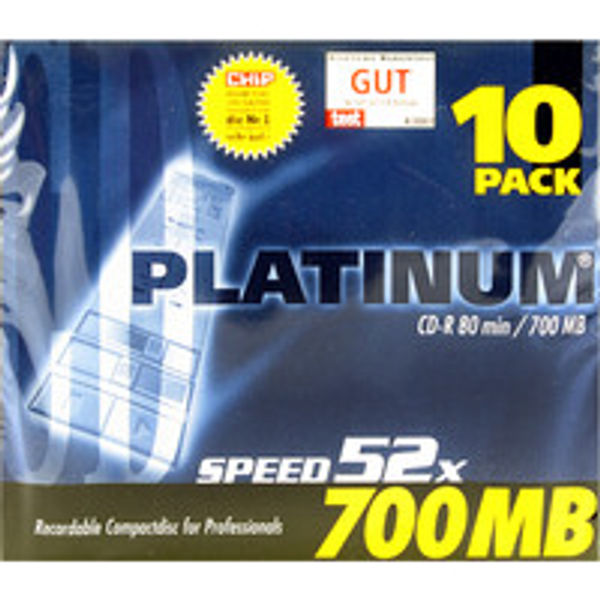 Q-Connect CD-R 700MB/80minutes in Slim Jewel Case (Pack of 10) KF00419