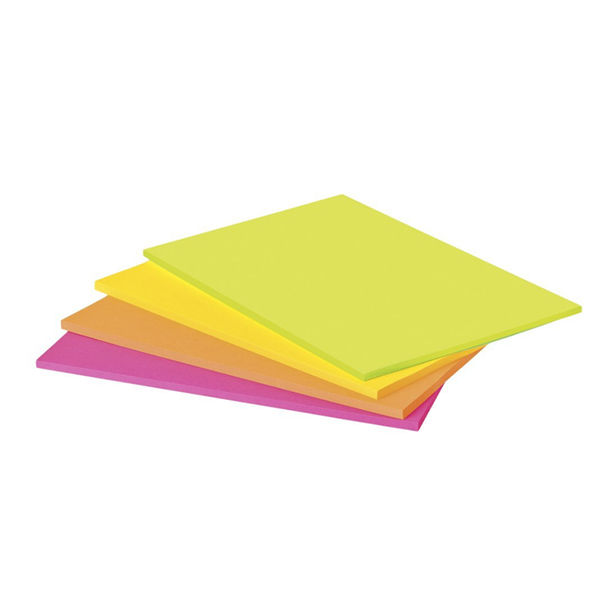 Super Sticky  200 x 149mm Post-it Meeting Notes, Pack of 4 - 6845SSP