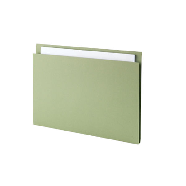 Guildhall Green A4 Square Cut Folders 180gsm - Pack of 100 - FS315-GREEN